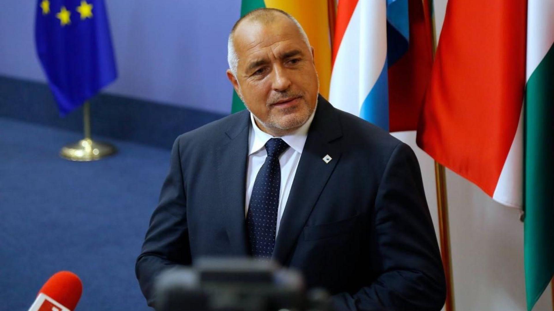 Бойко Борисов: Не искаме икономически мигранти