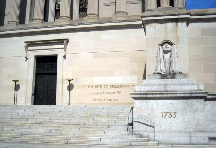 Храмът на Върховния съвет на света на 33-тата и последна степен във Вашингтон (Снимка: Личен архив на Васил Стоев - Ампега)