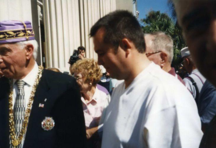 Илия Павлов на гости при масоните в САЩ  (Снимка: Личен архив на Васил Стоев - Ампега)