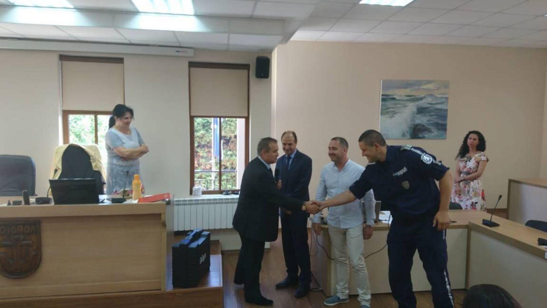 Дариха дрегер за дрога на полицията в Созопол