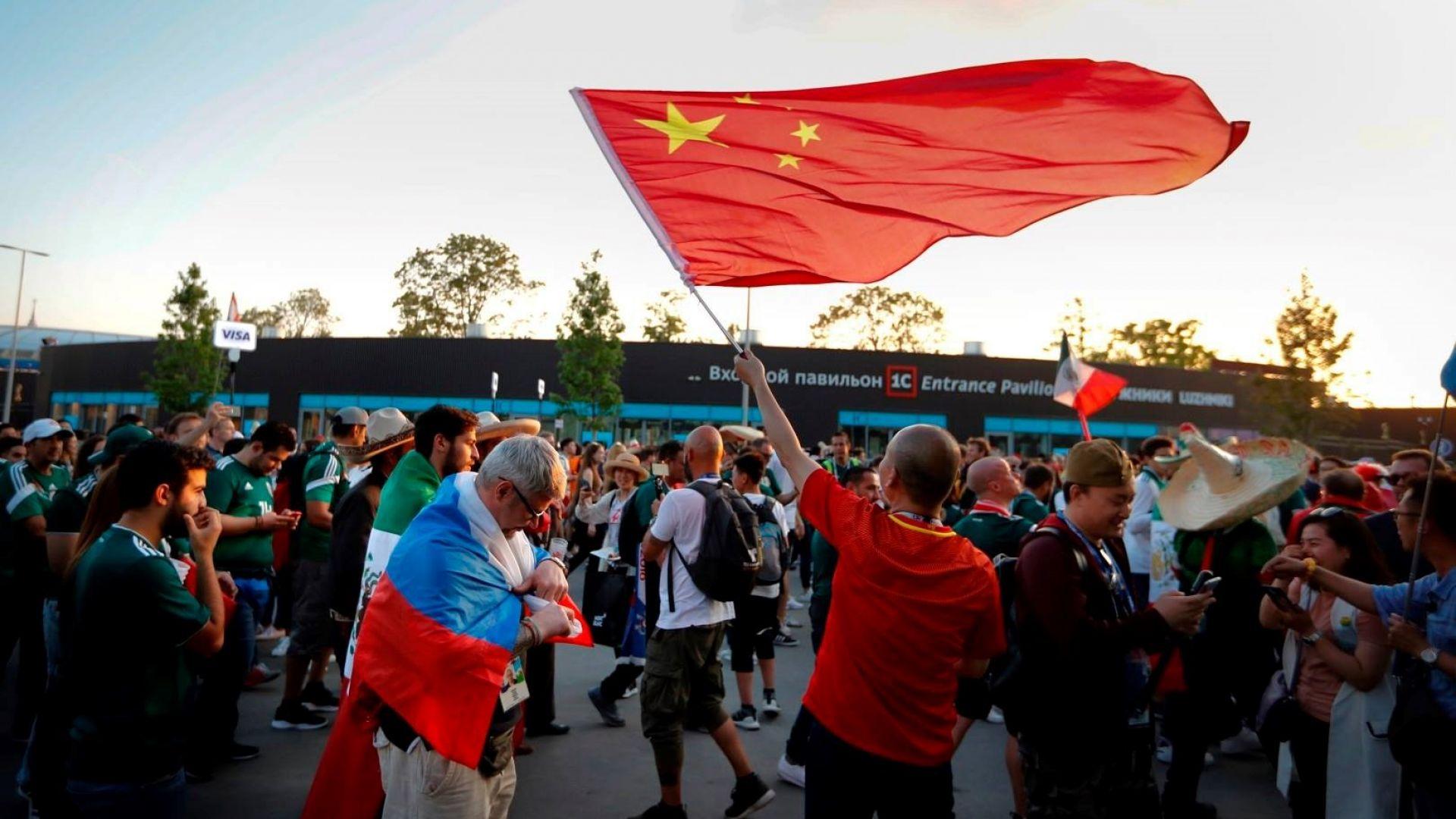 Китайците са най-многобройните чуждестранни фенове на Мондиала