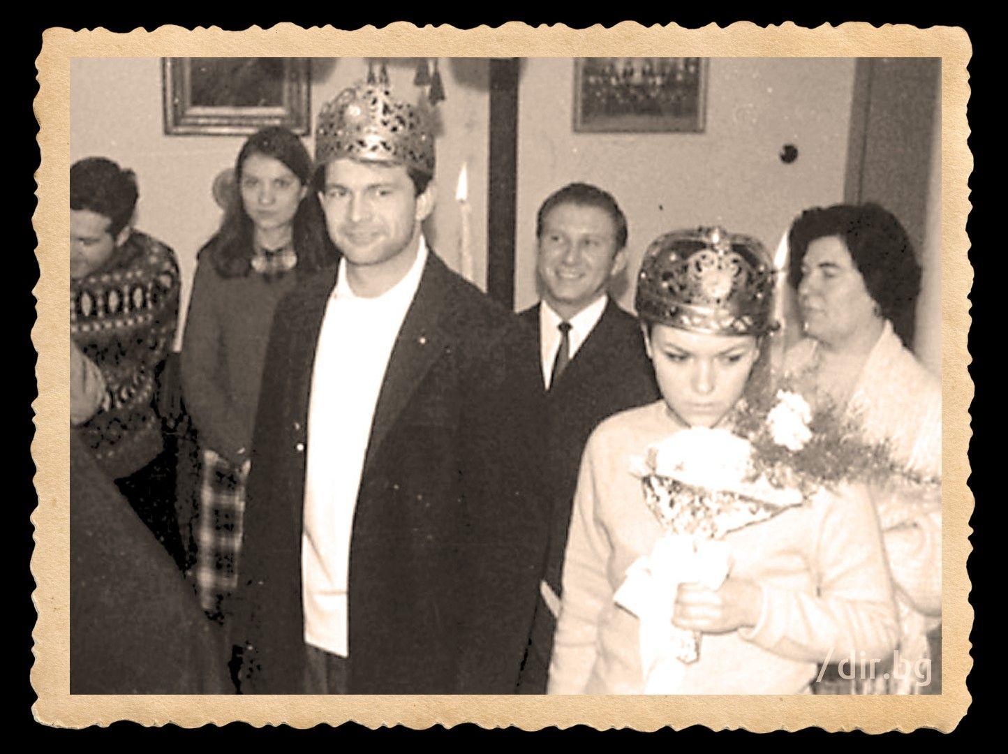 Сватбата на Гунди и Величка в Троянския манастир