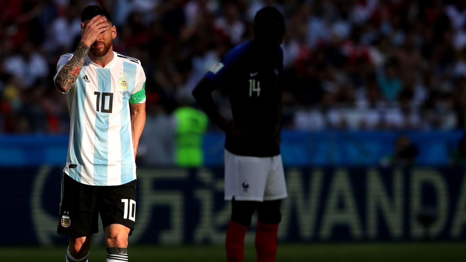 Първите реакции в Буенос Айрес: Едно Световно, на което Меси не присъства