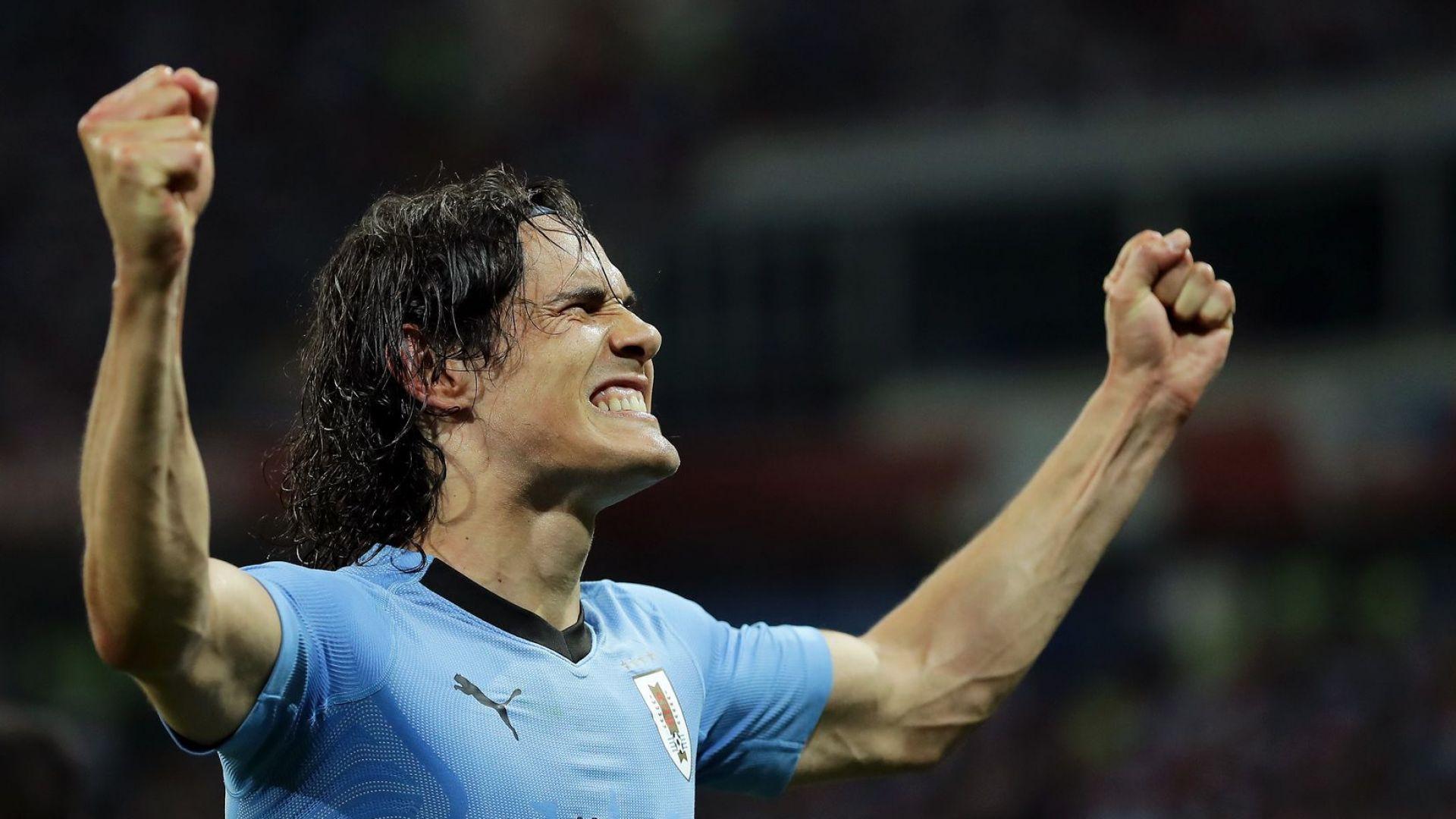И Роналдо събра багажа, коравата банда от Уругвай заслужи четвъртфинал