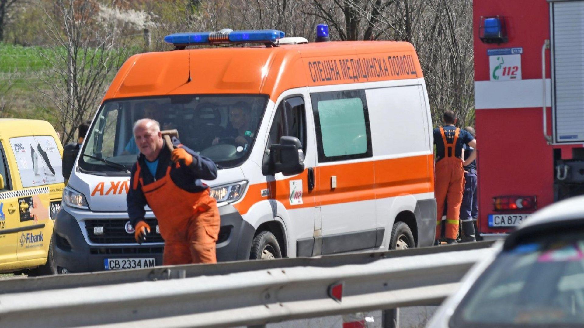 """Четири жертви и трима ранени при катастрофа на """"Тракия"""""""