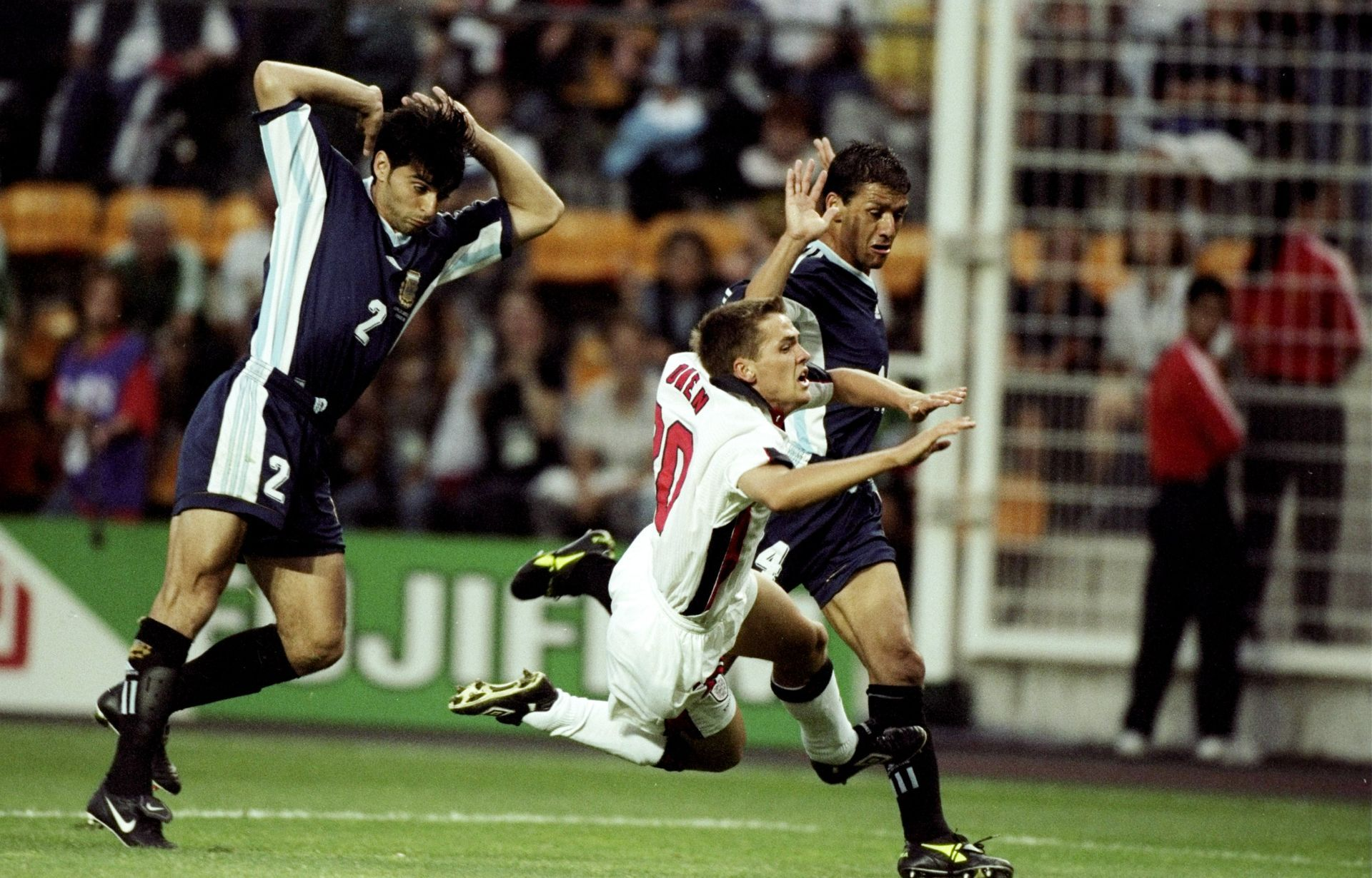 Майкъл Оуен срещу Аржентина, 1998 г.