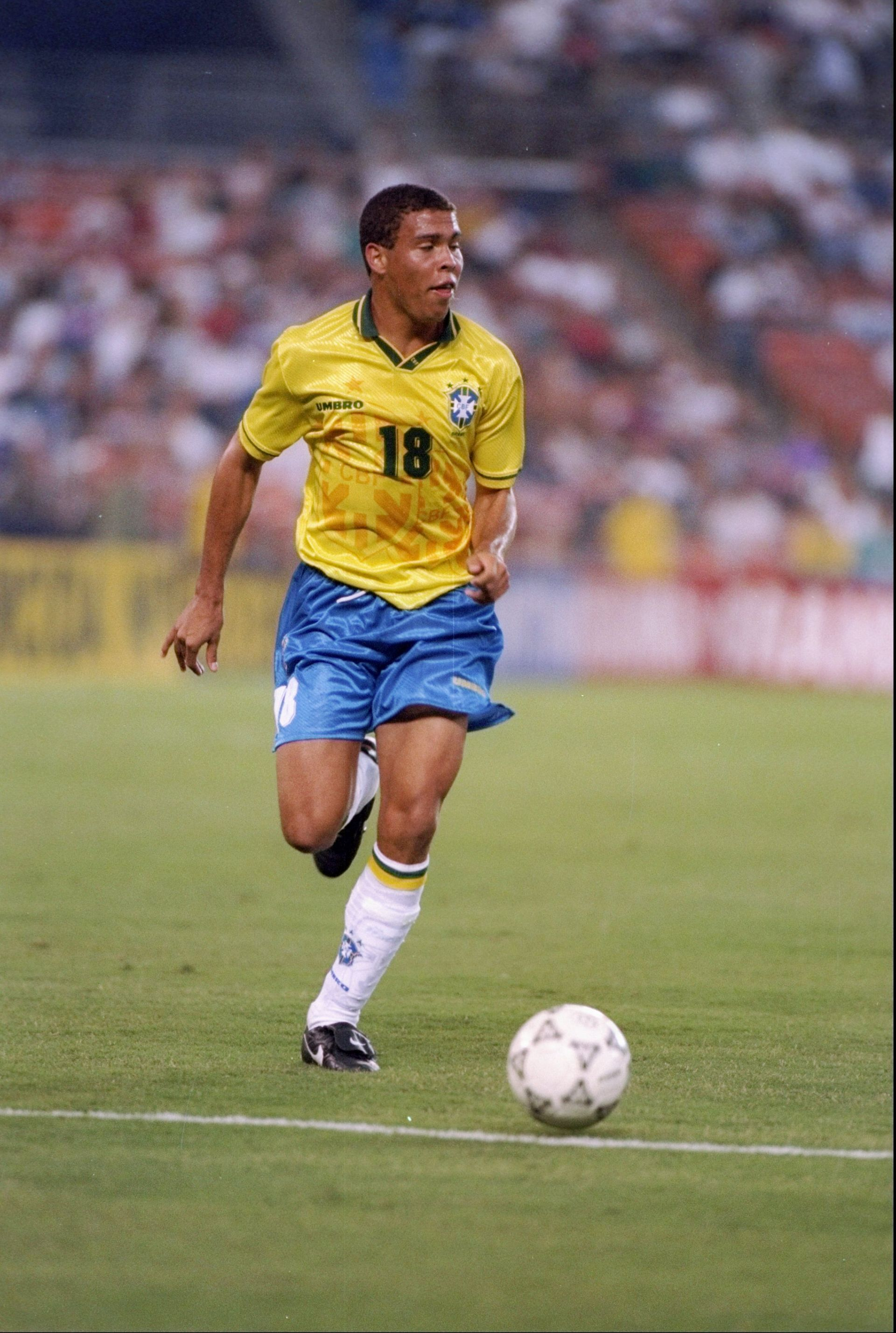 1994 г., Роналдо с екипа на Бразилия