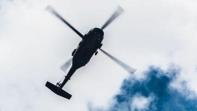 Хеликоптер се разби в Южна Русия, пилотът загина (видео)
