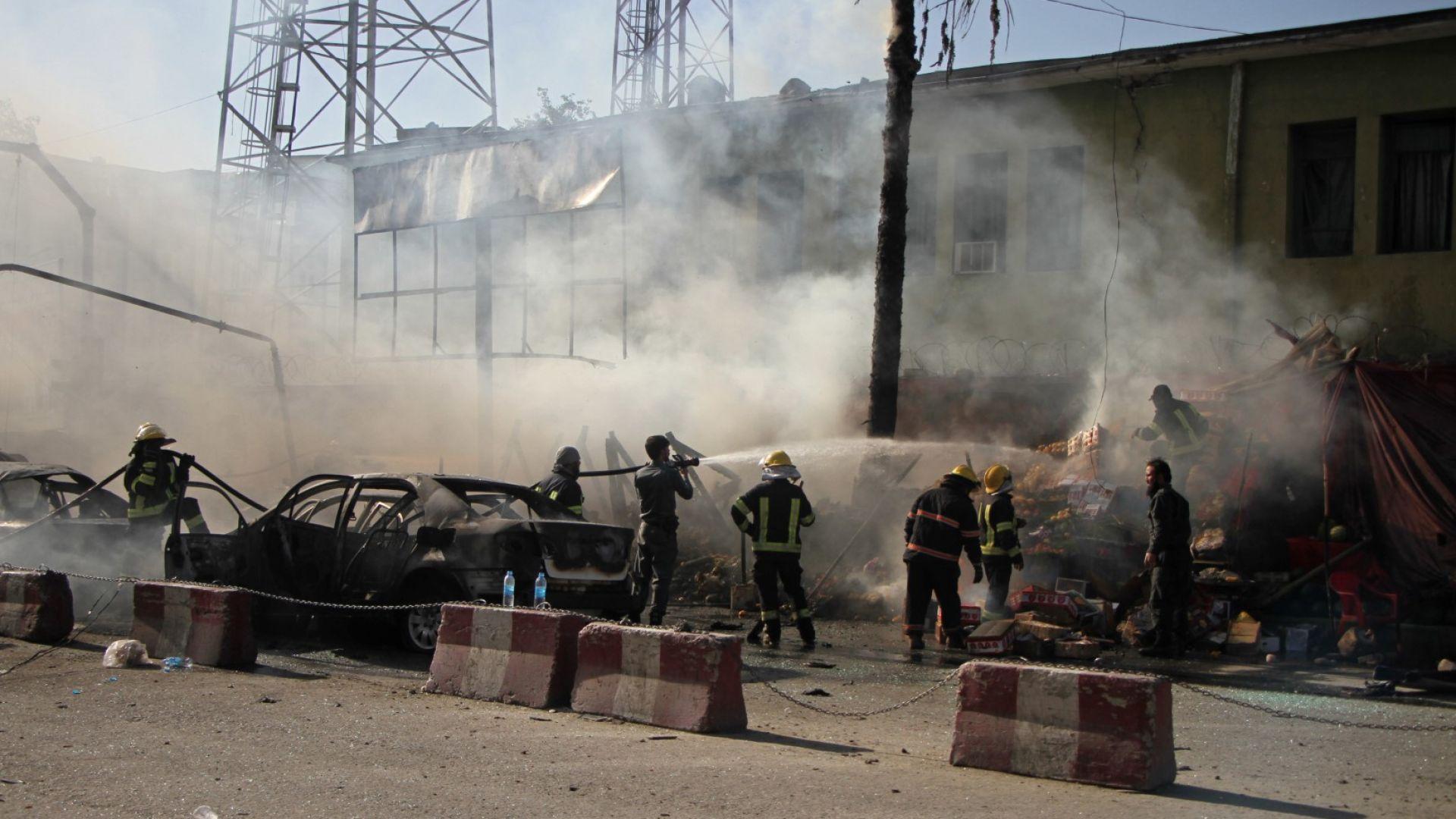 """""""Ислямска държава"""" пое отговорността  за самоубийствения атентат  в Джалалабад"""
