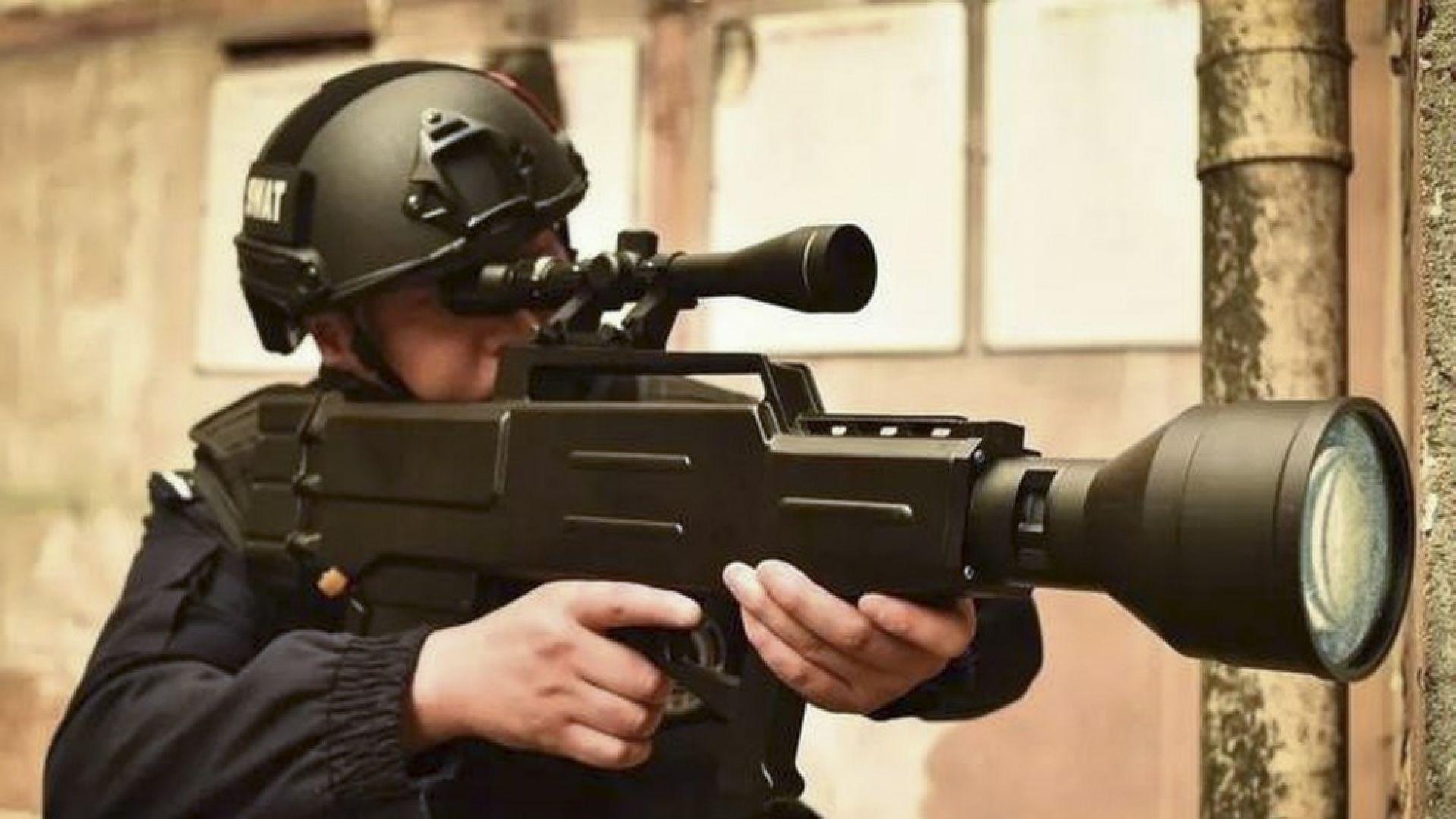 Китай има лазерна пушка, която може да убива