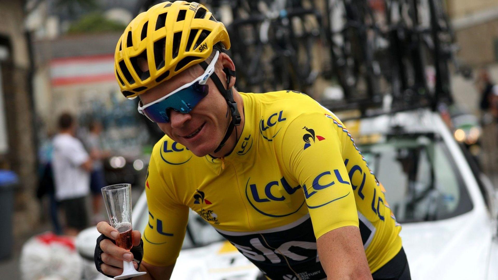 """Победителят от """"Тур дьо Франс"""" оправдан за допинг"""