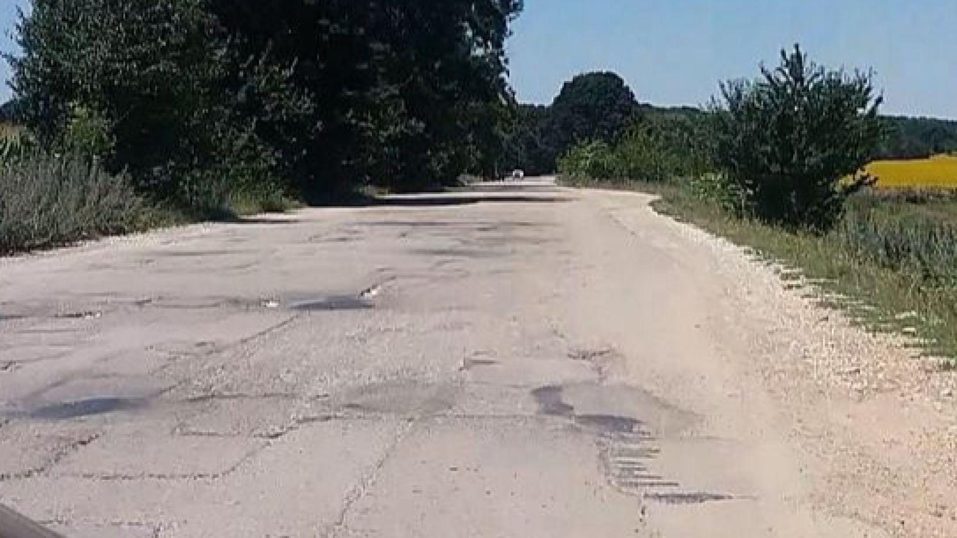Задава се блокада на пътя Русе-Кубрат, хората искат спешен ремонт