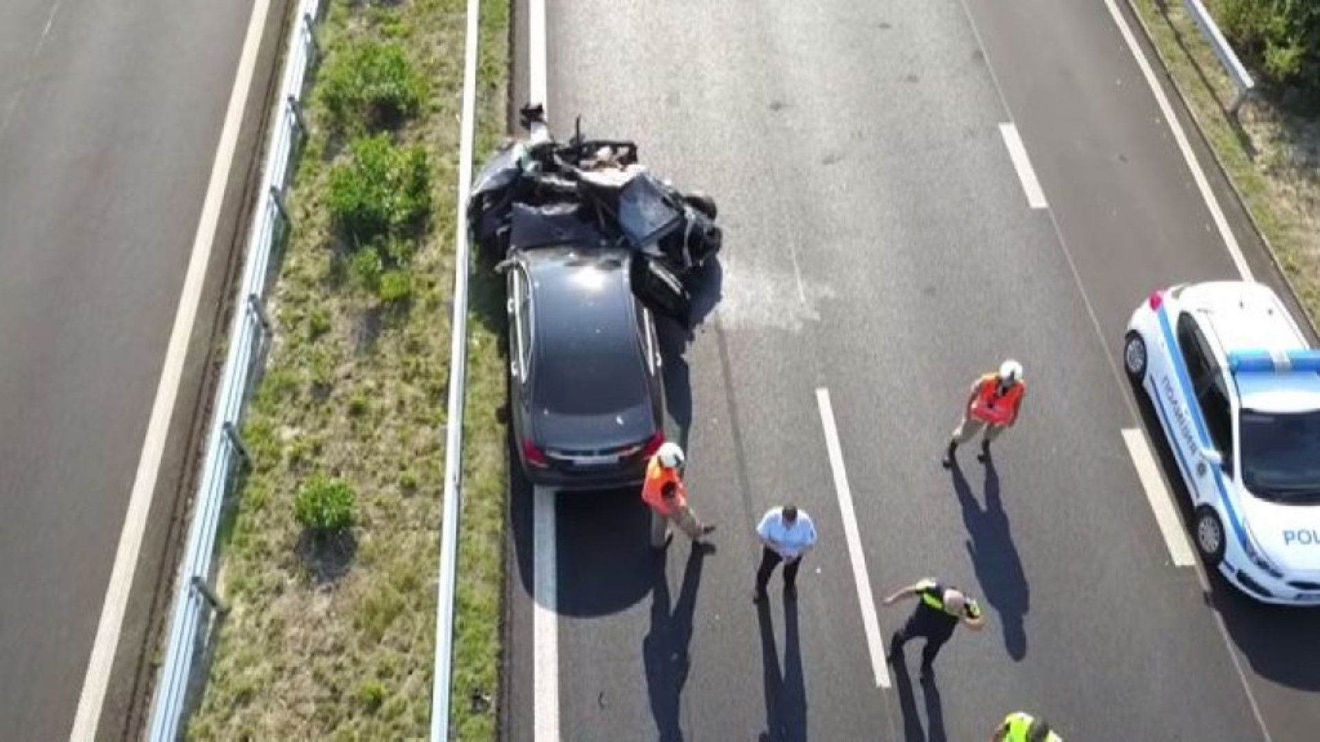 Загиналата в мелето на магистралата е издирвано лице