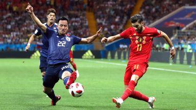 Белгийски национал се извинява с 10 бона за счупен нос на съиграч