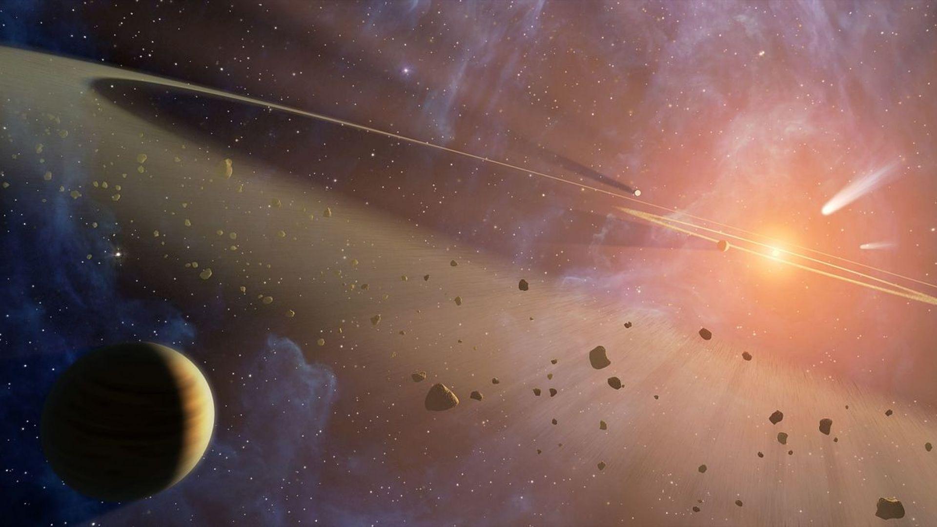 Астрономи откриха над 100 малки планети в Слънчевата система