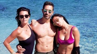 Никол Шерцингеr, Емили Ратайковски и Кейт Мос споделиха горещи снимки от Миконос