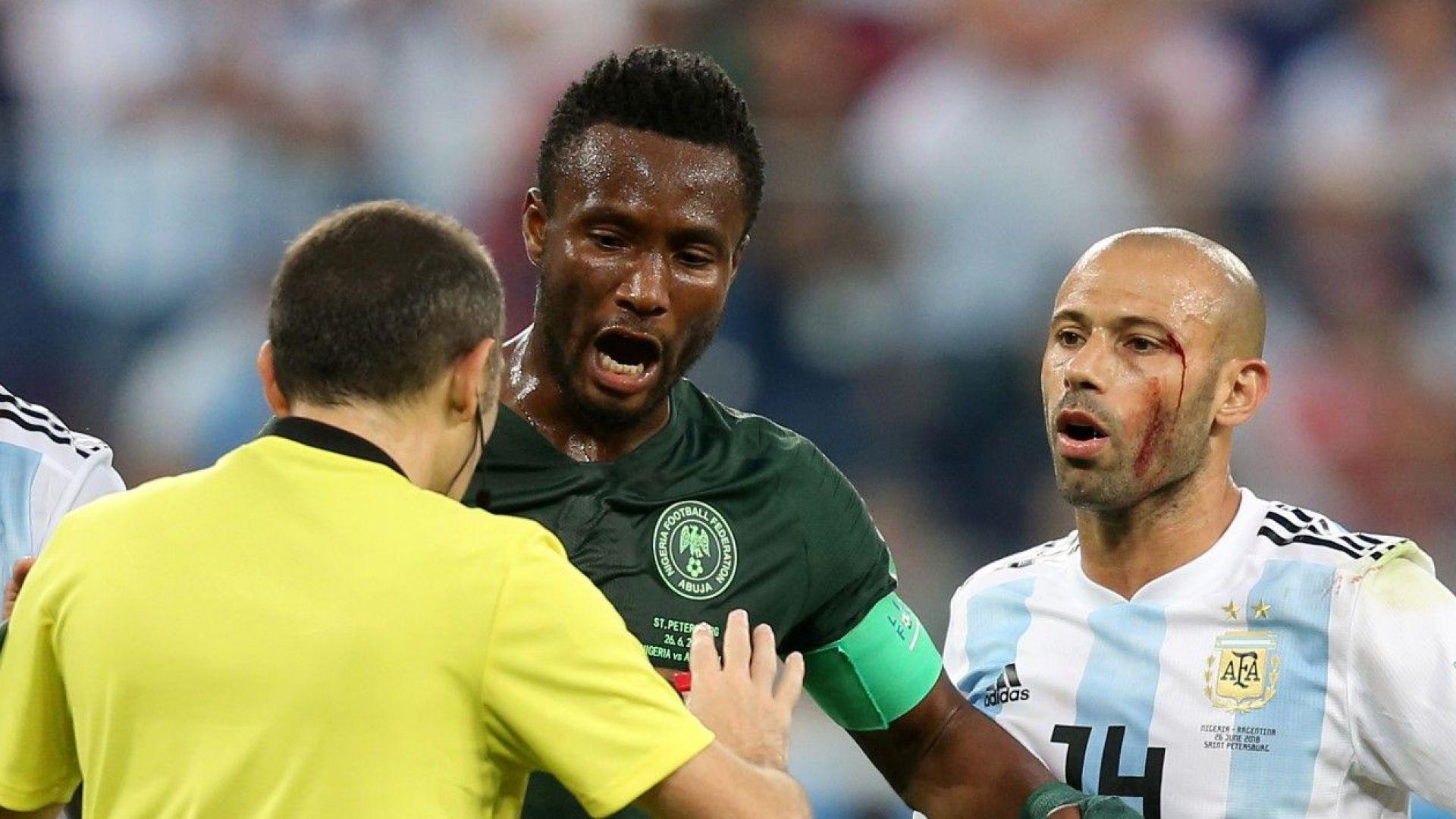 Нигерийският капитан премълчал шокираща новина преди мача с Аржентина