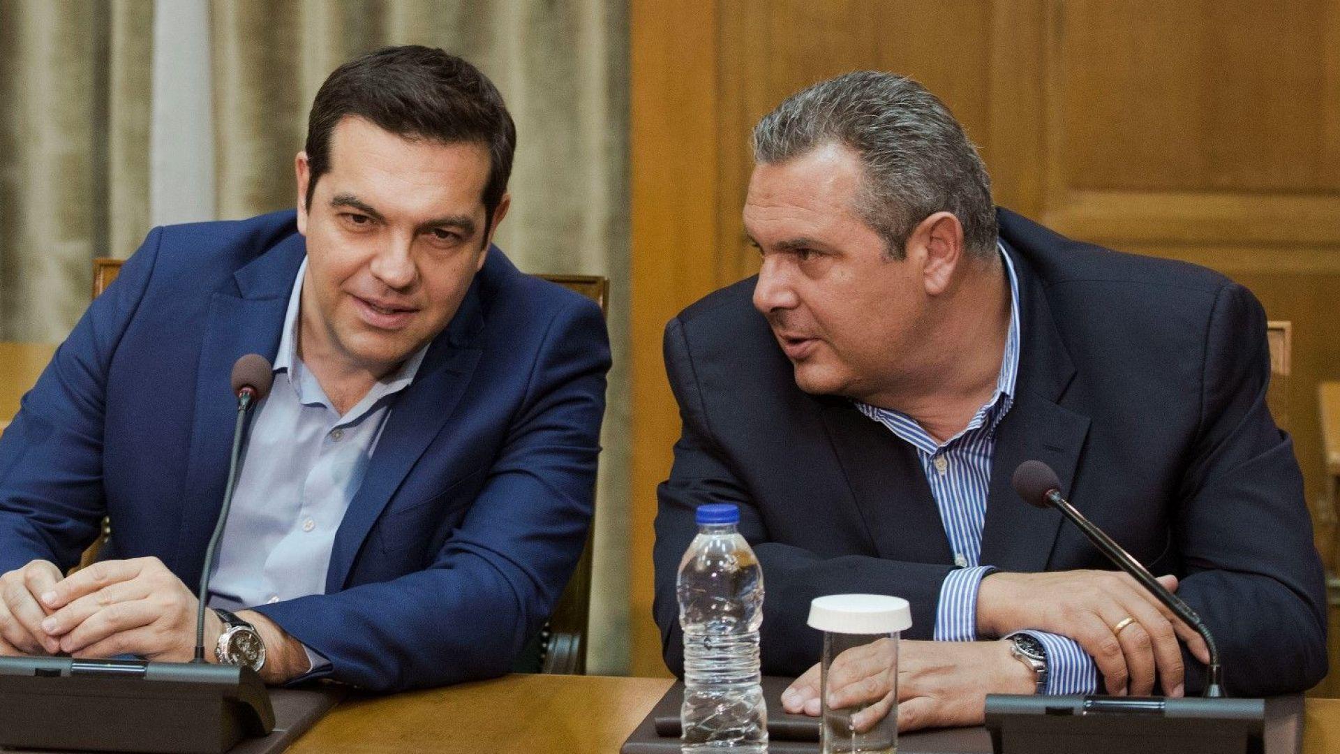 Управляващата коалиция в Гърция на път да се разпадне