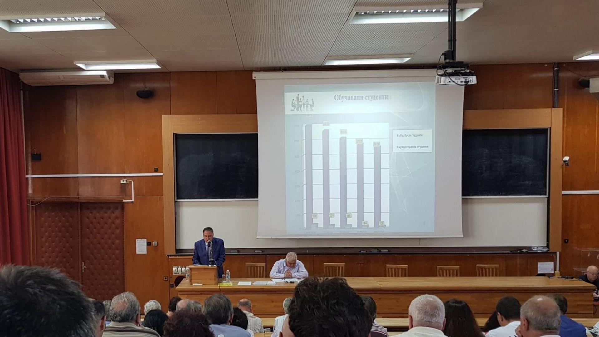 Тече проверка в Техническия университет във Варна