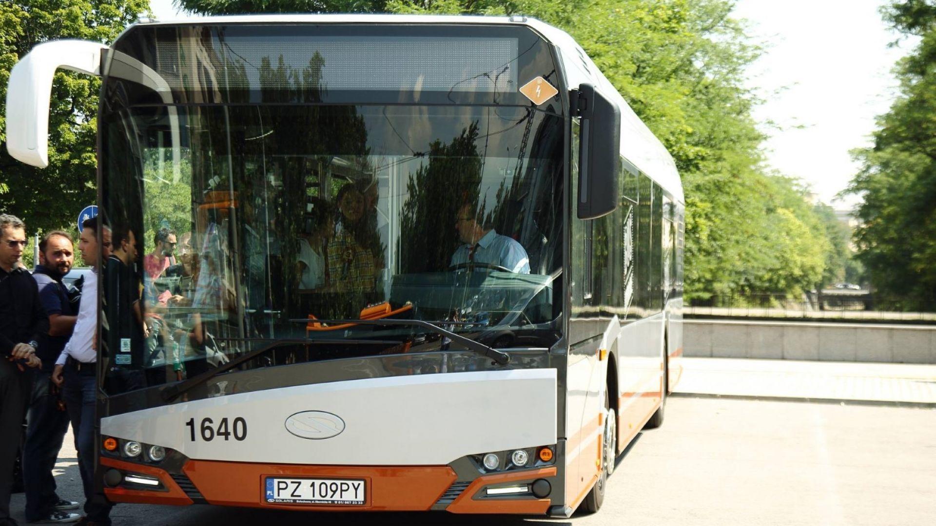 В София тръгна първият хибриден автобус, ще има още 20 (снимки)