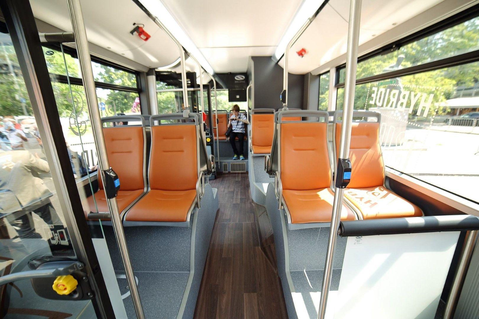 ще се включи в Новият автобус ще се включи в столичния градски транспорт за 10 дни