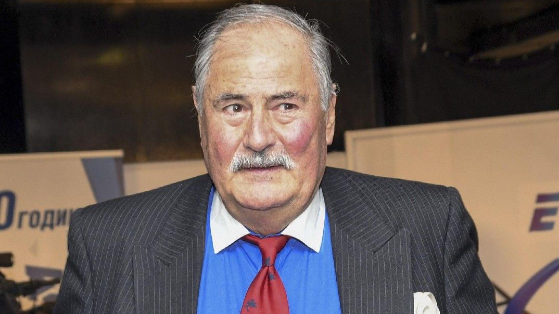 Жорж Ганчев е в болница с опасност за живота