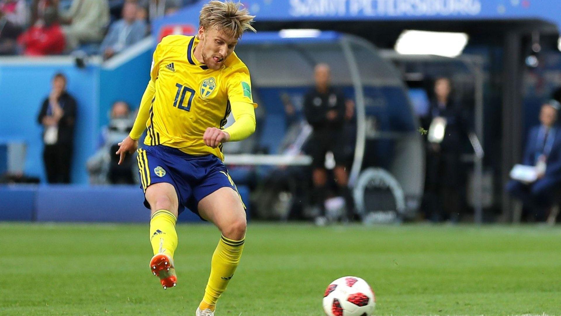 Щастлив гол класира Швеция и върна лентата към САЩ 94
