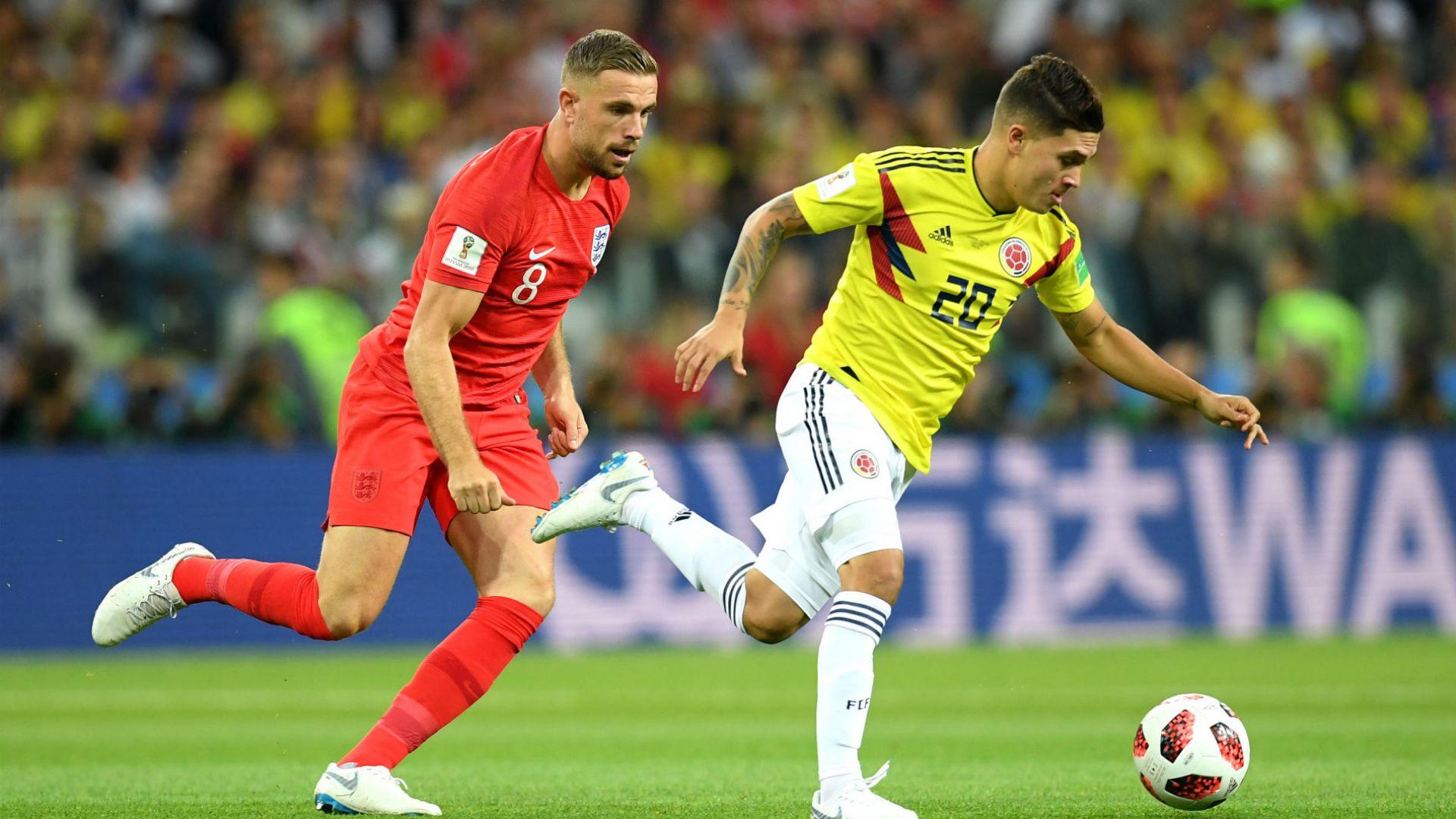 Колумбия - Англия 1:1 (3:4 след дузпи)