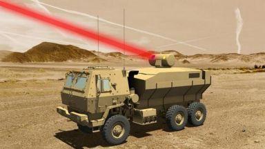 Армията на САЩ скоро ще има мощен лазер