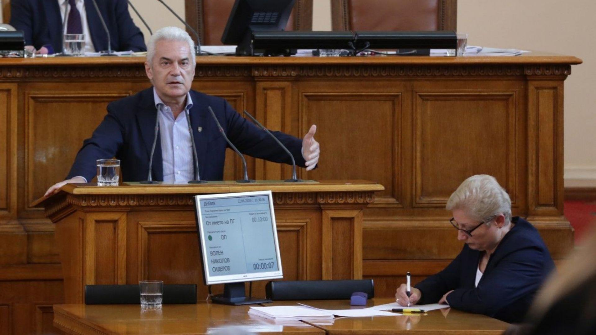 Сидеров: Критиките на президента към правителството са неоснователни