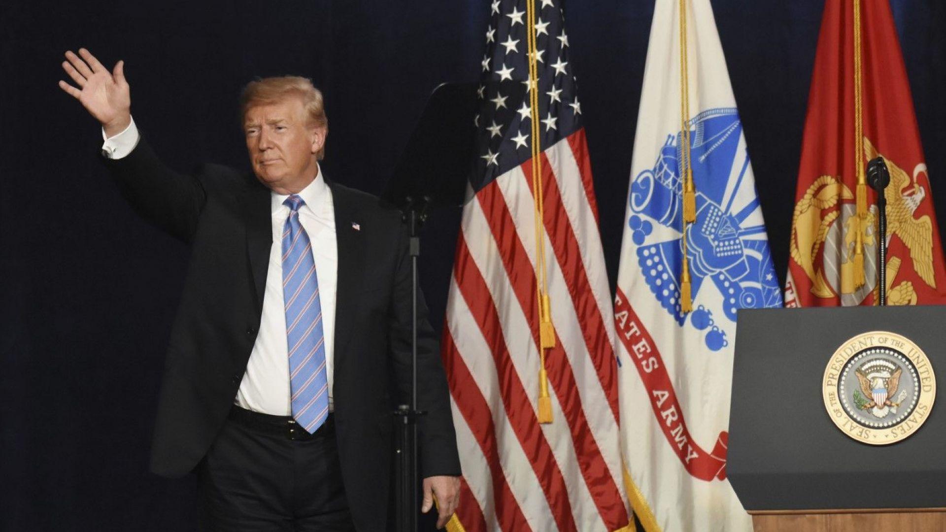 Румен Радев поздрави Доналд Тръмп за националния празник на САЩ