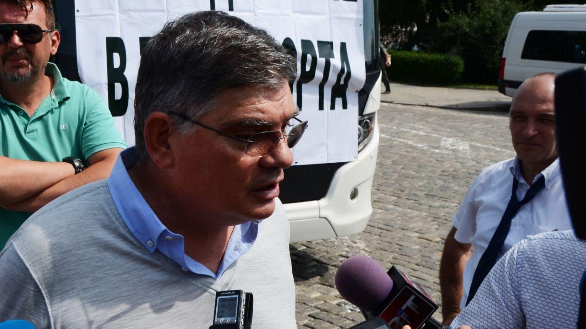 Миролюб Столарски пред Дир.БГ: 95% от участниците в протеста са малки фирми, Камарата ще изравни позициите