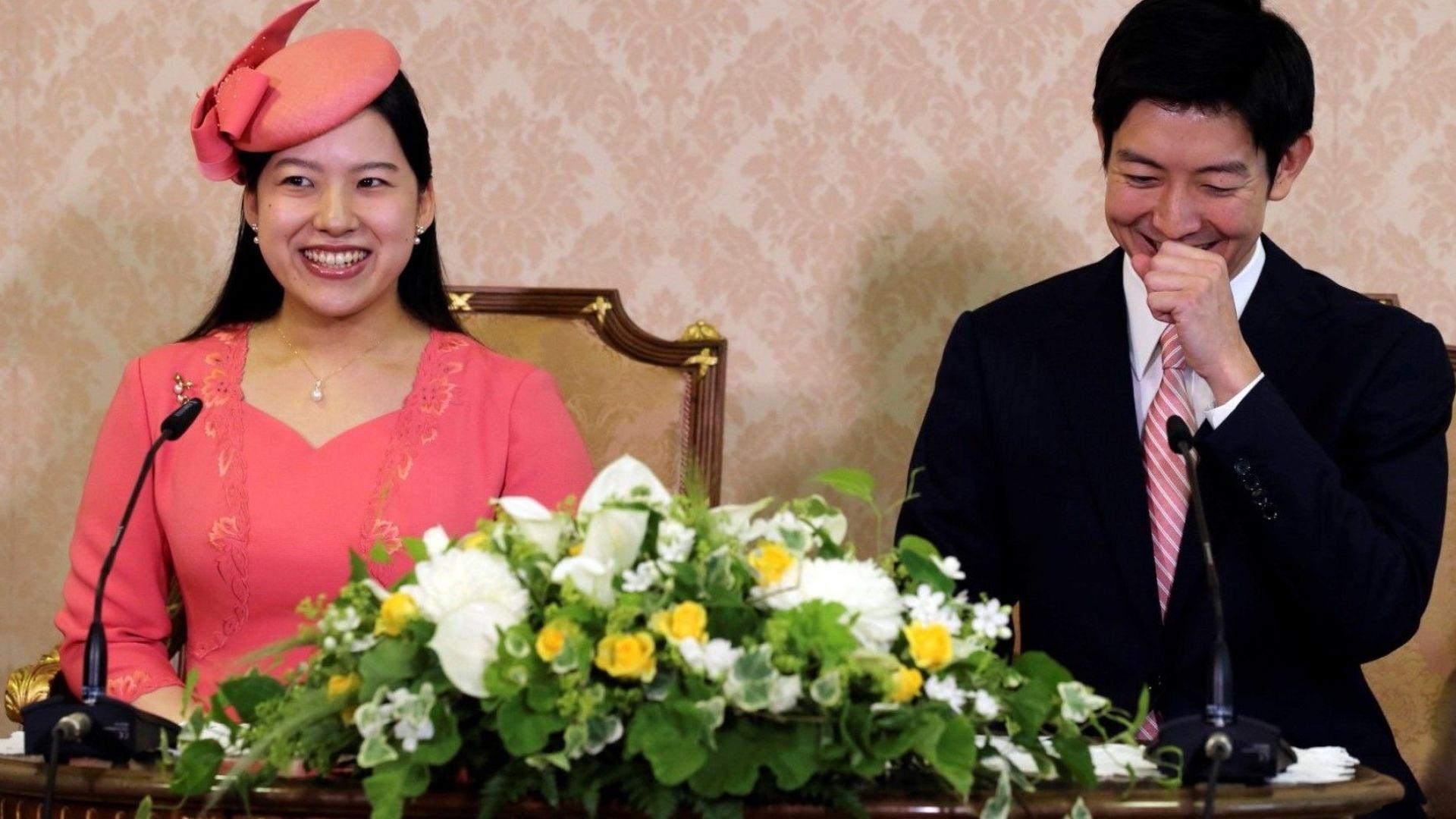 Още една японска принцеса напуска императорското семейство в името на любовта