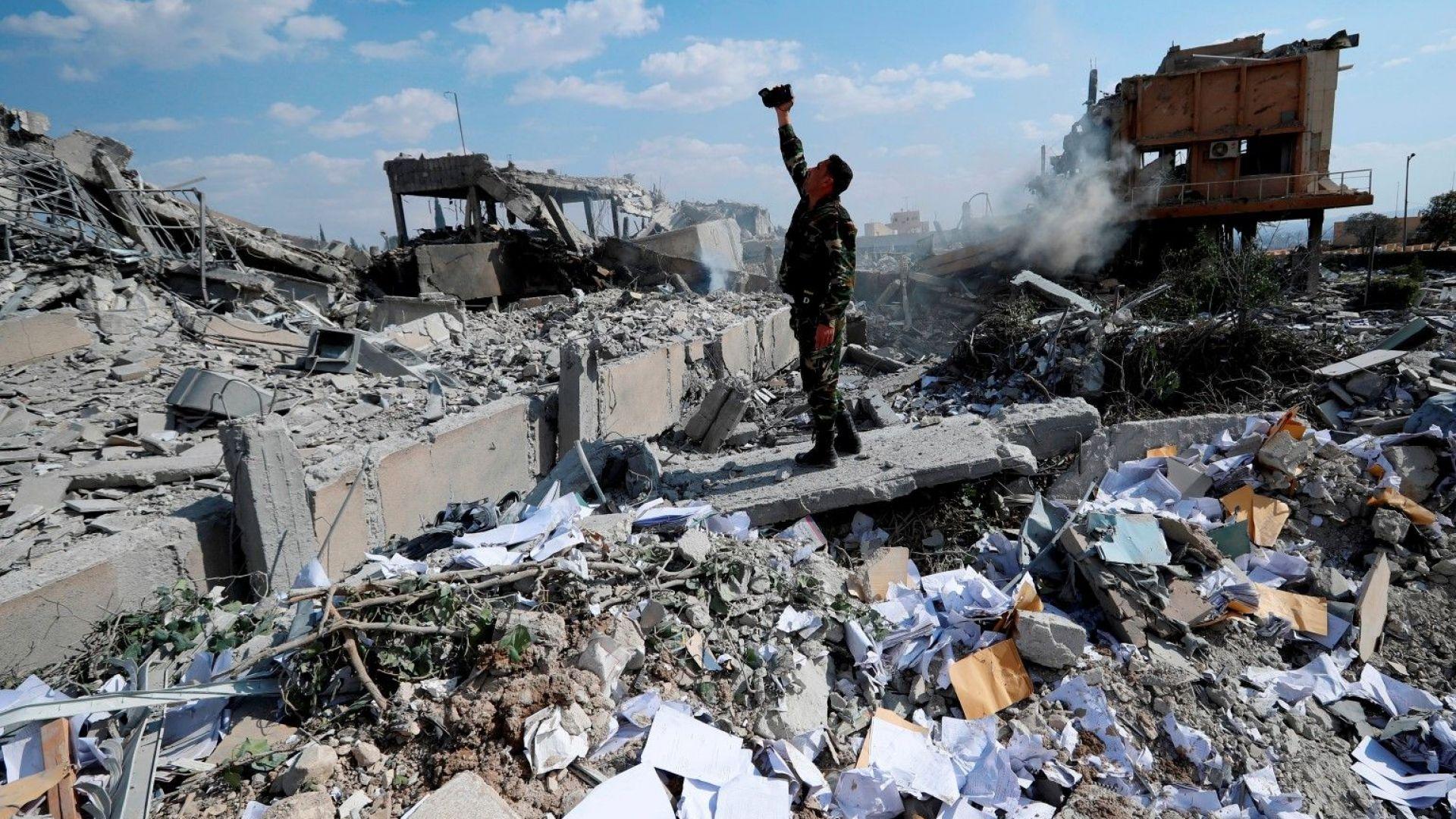 Москва предупреди за инсценировка на химическо нападение в Сирия