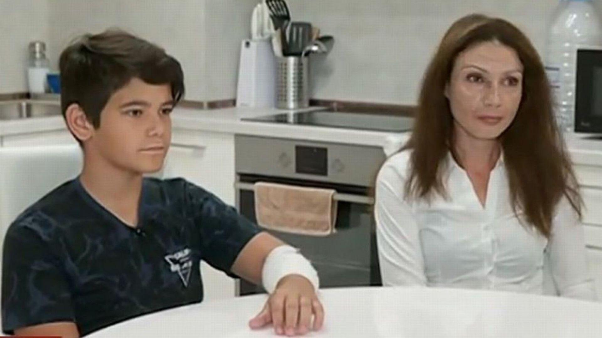11-годишно момче увреди ръката си заради опасна игра в интернет