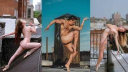 Голи танцьори на покривите на Ню Йорк разкриват душите си