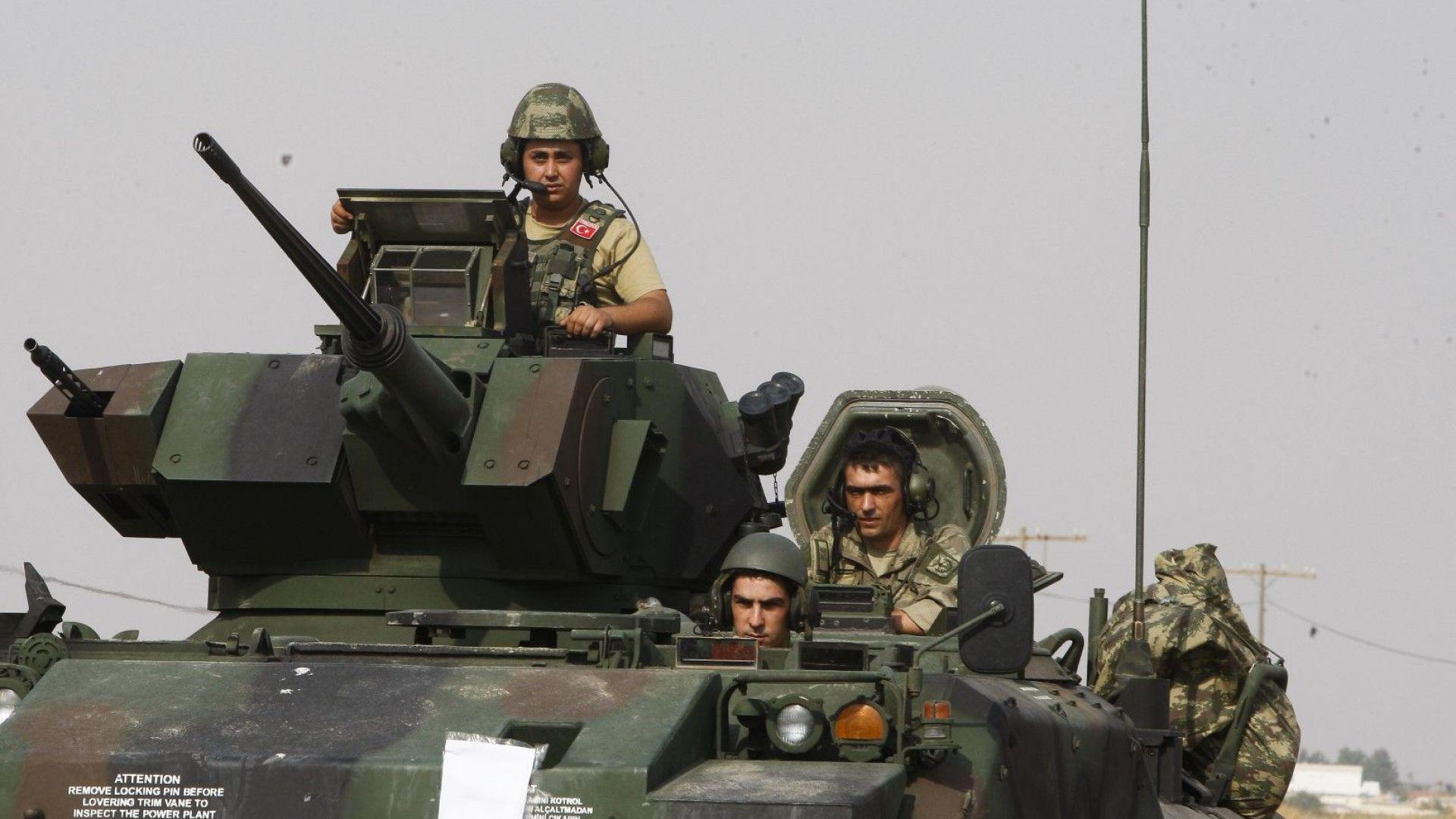 Турция нахлува с още войски в Сирия
