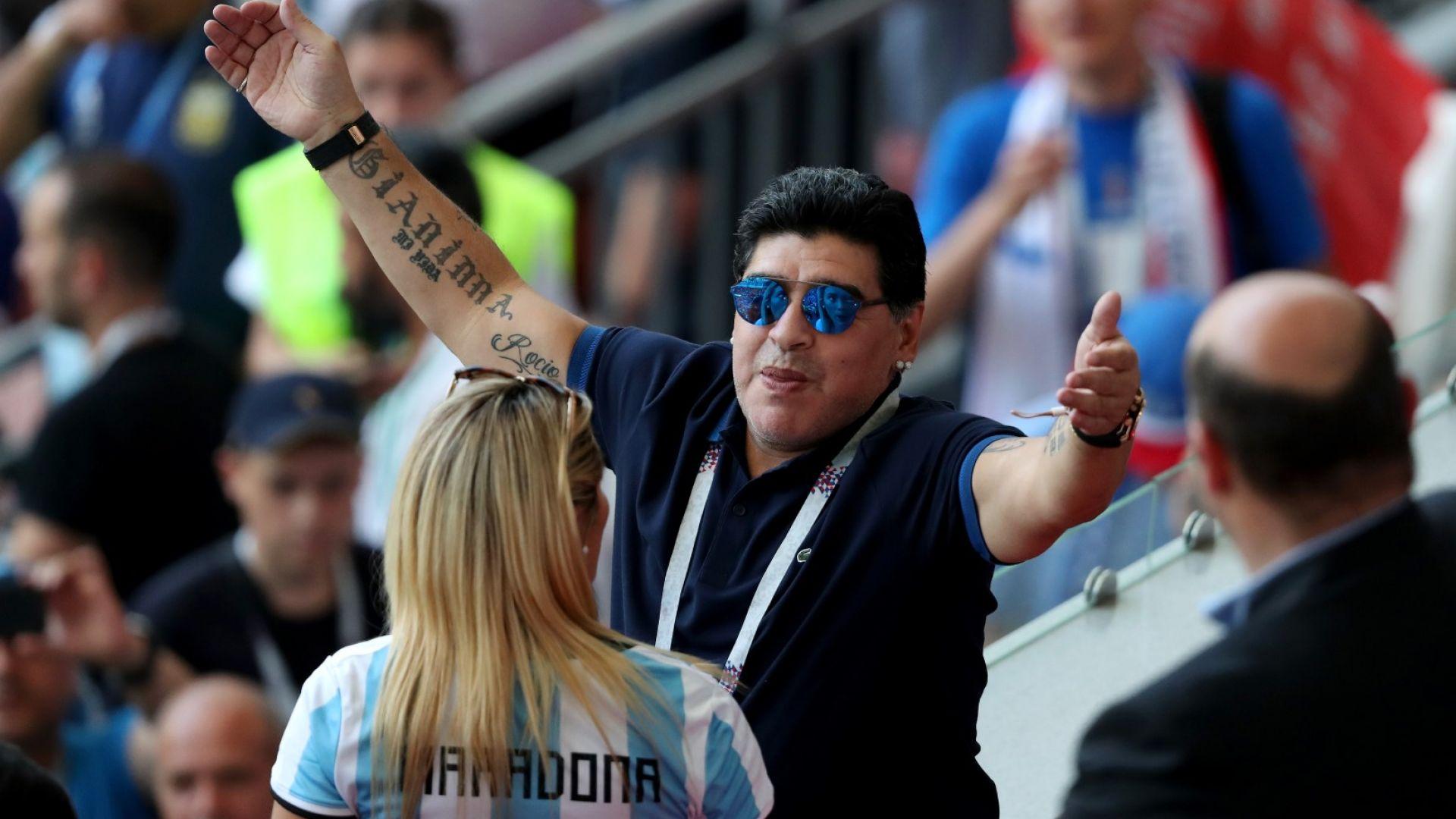 Марадона: Вбесява ме, че не ме спрягат за треньор на Аржентина