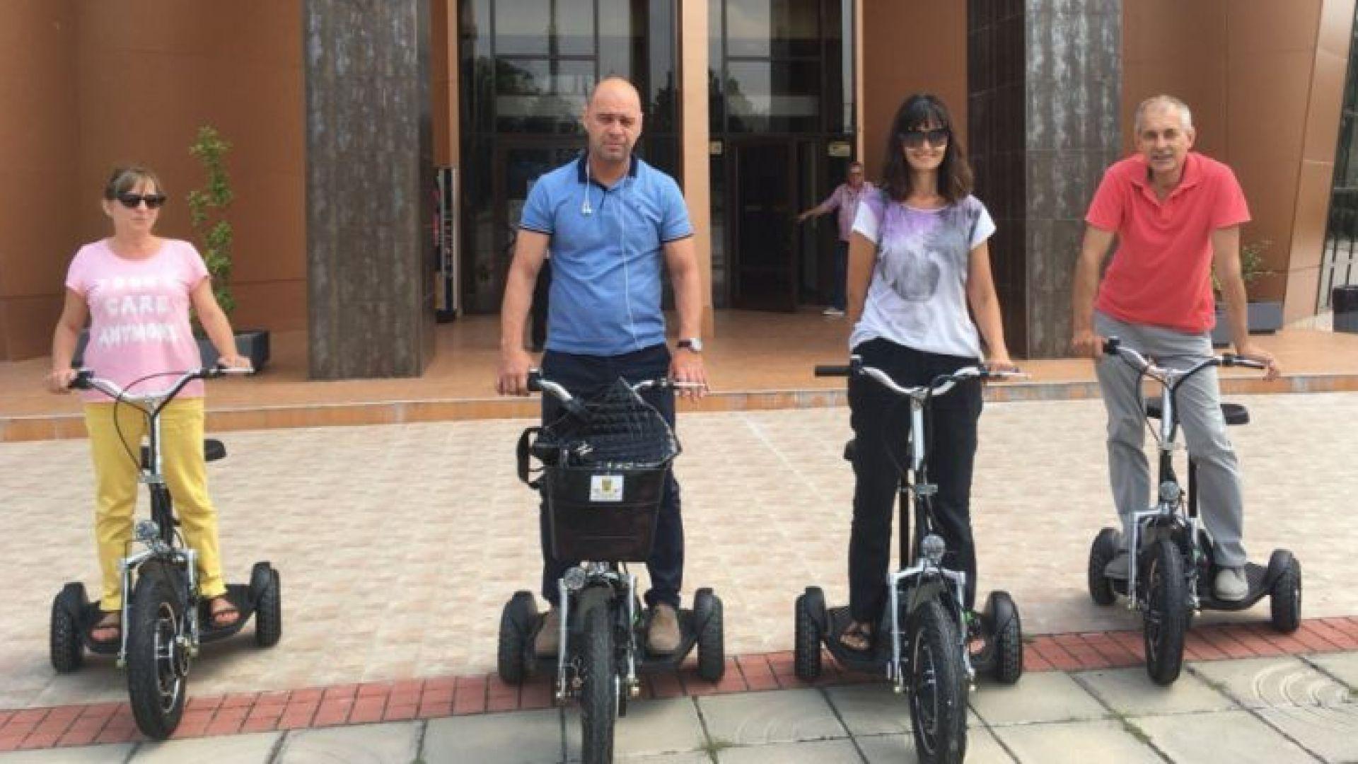 Администрацията в Пловдив въвежда електрически скутери в работата си