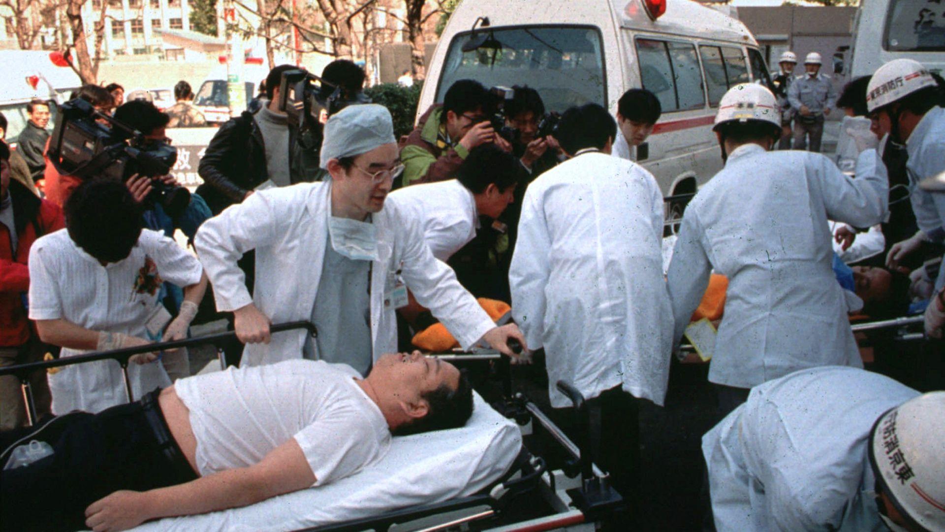 Атаката със зарин в Токио през 1995 г. е най-тежкият терористичен атентат в Япония