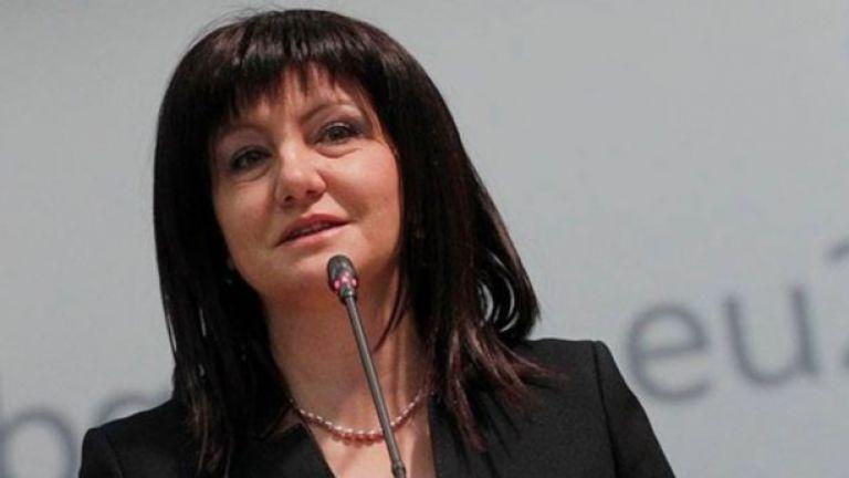 Председателят на парламента Цвета Караянчева покани европейските институции да изпратят