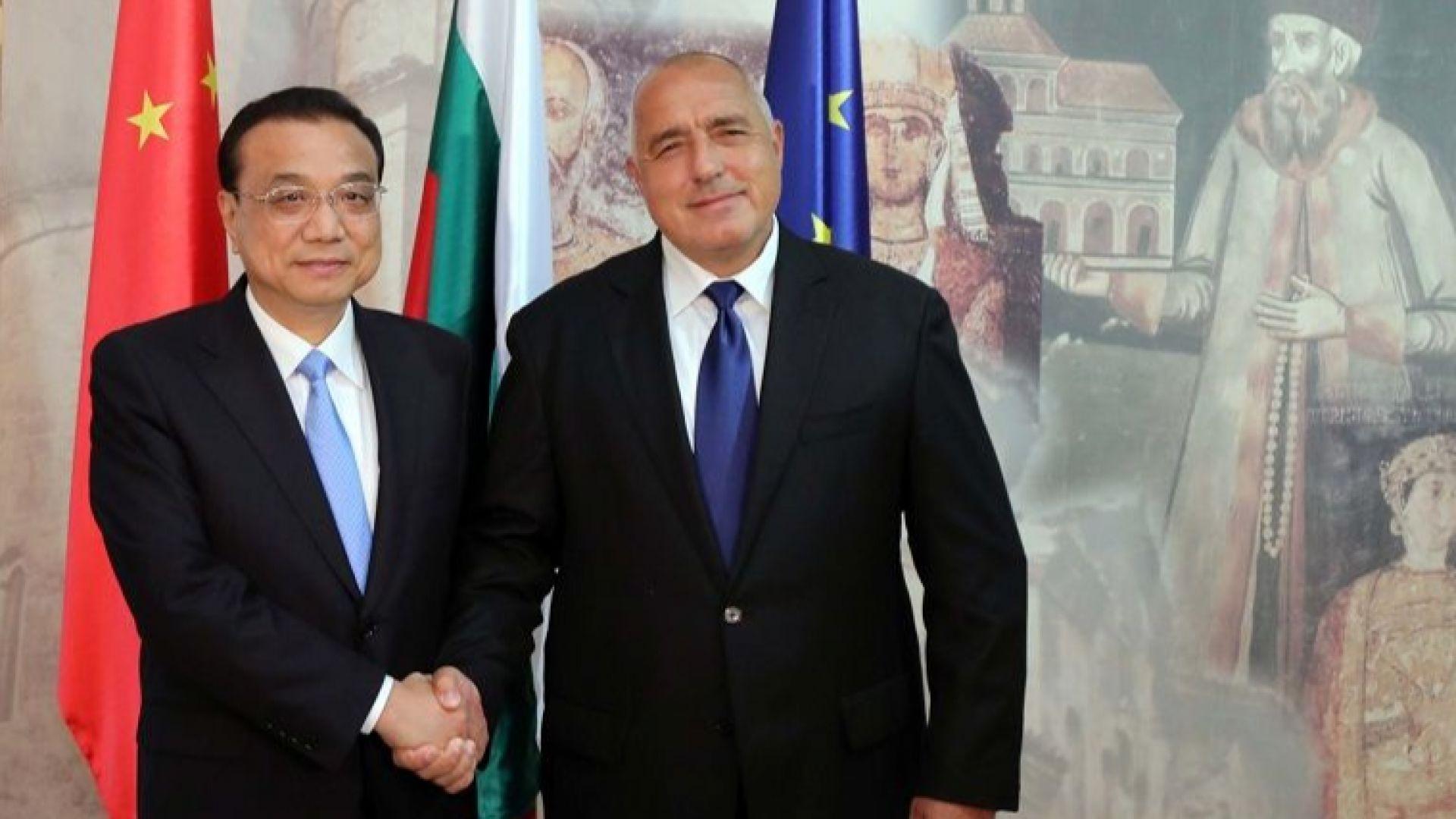 Премиерът на Китай Ли Къцян: Гордеем се с куража на Боян Петров