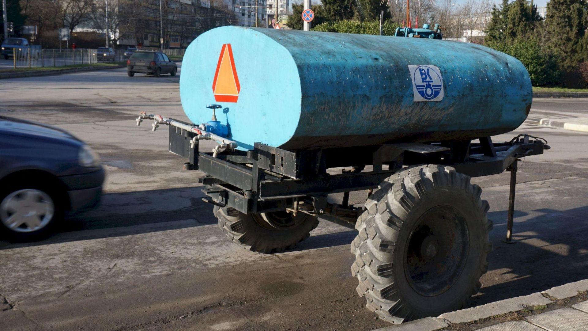 Пет села от област Пловдов са без вода заради аварии