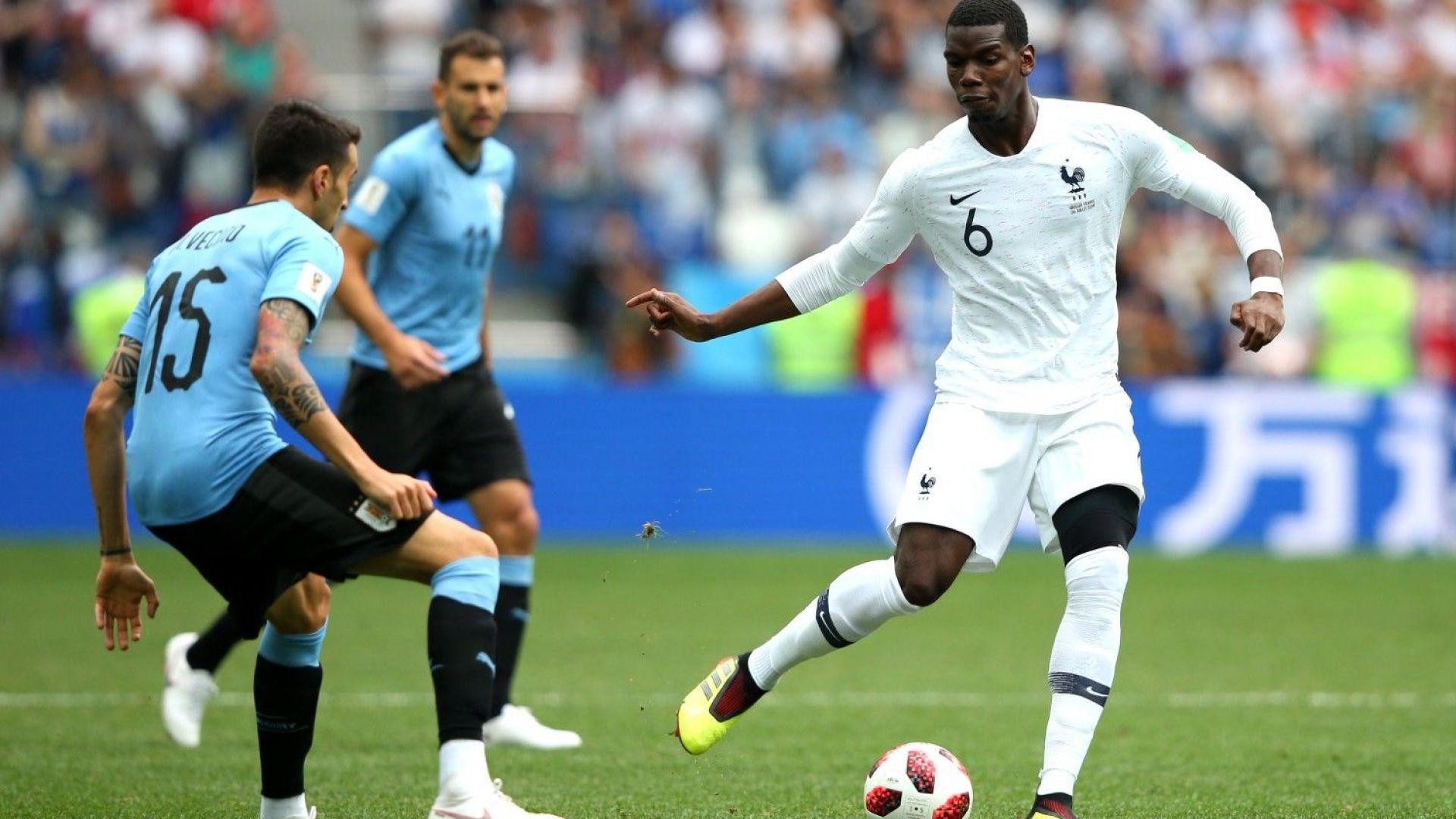 Уругвай - Франция 0:2 (статистика)