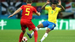 Бразилия - Белгия 1:2 (статистика)