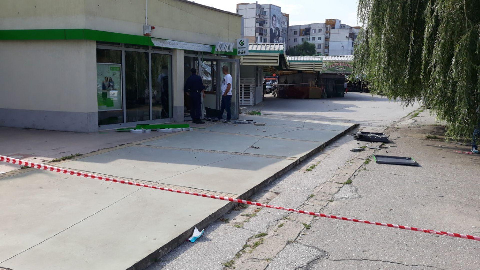 Обирджиите, взривили банкомат в Пловдив, са разкрити и задържани