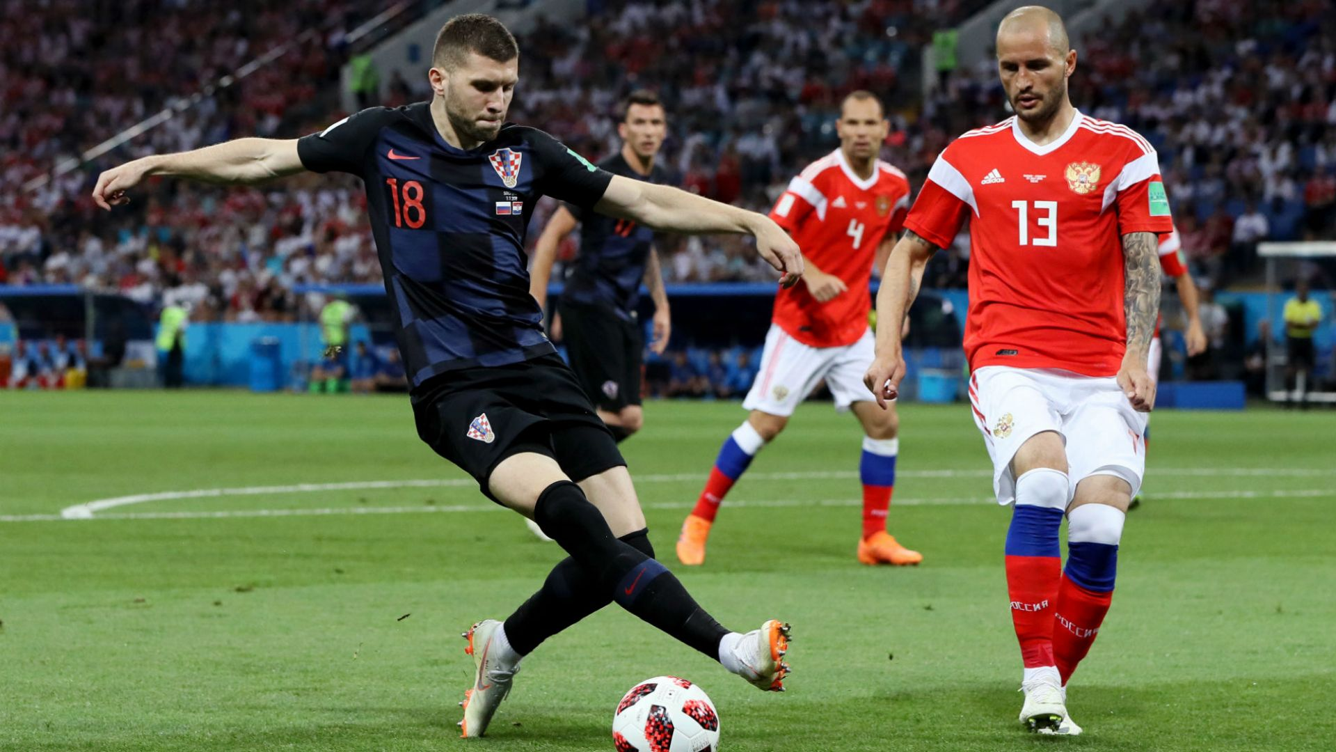 Русия - Хърватия 2:2 (статистика)