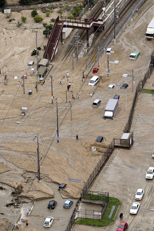 Наводнения в Япония заради проливни дъждове