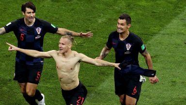 Хърватски играч посвети победата на Украйна