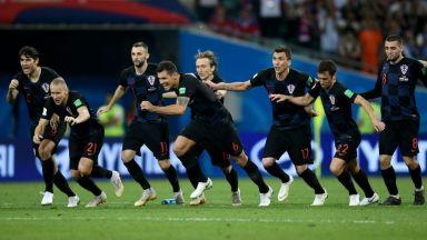 Хърватия изхвърли Русия след драма и дузпи в Сочи